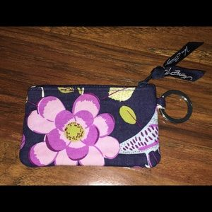 Vera Bradley Floral Nightingale Coin Purse